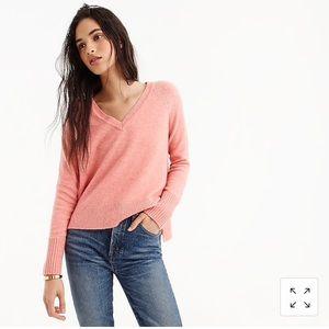 Jcrew V-neck sweater in super soft yarn
